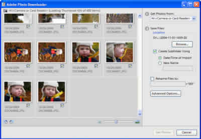 Adobe Photo Downloader