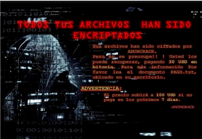 How to remove AnonCrack Ransomware and decrypt  crack files