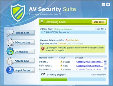AV Security Suite