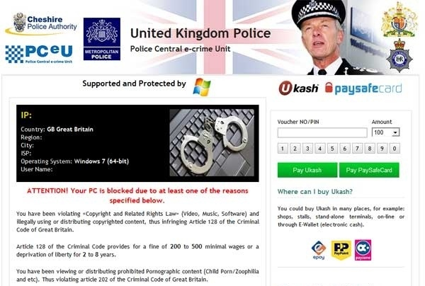 Cheshire Police Authority Virus