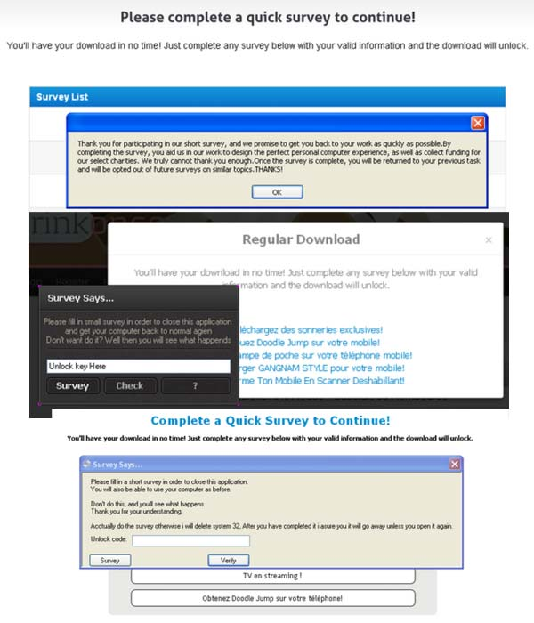 Eliminar please complete a quick survey to continue (guía de.