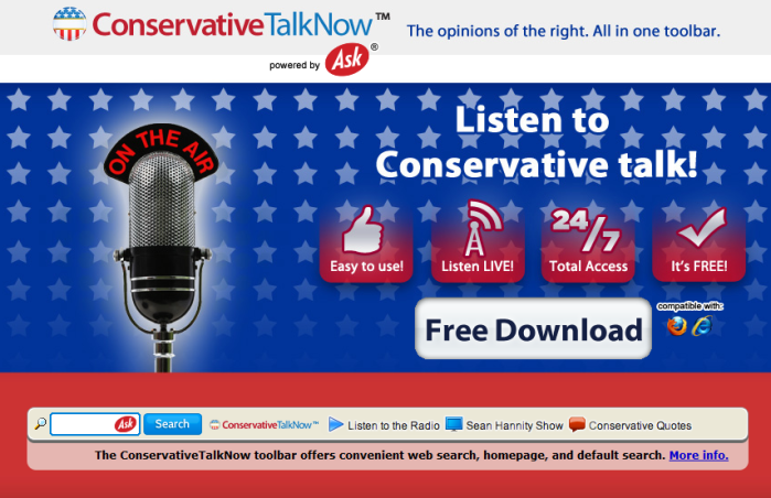 ConservativeTalkNow Toolbar