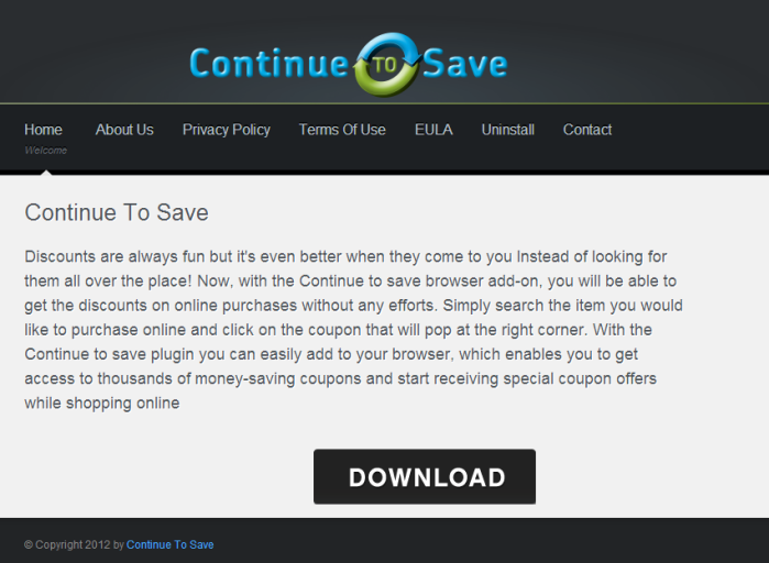 Continue To Save