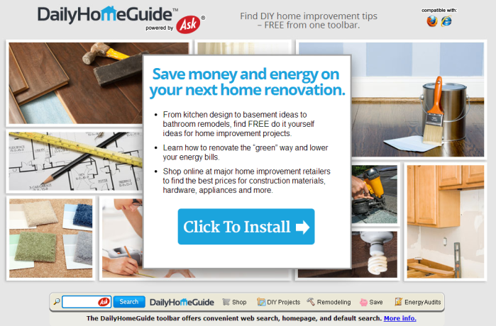 DailyHomeGuide Toolbar