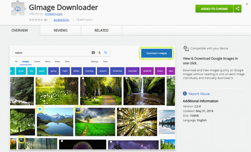 GIMage Downloader