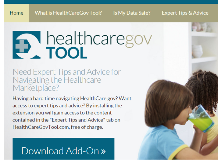 HealthCareGovTool