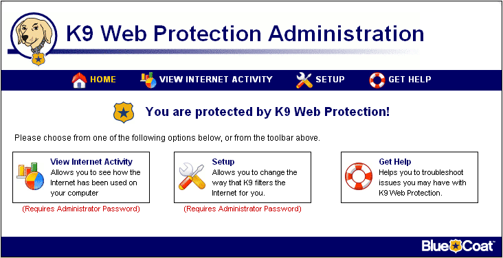 How to download and install k9 web protection.