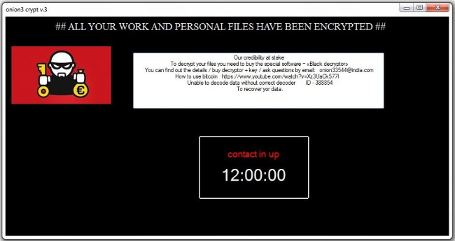 Onion3Cry Ransomware