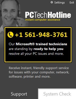 How to remove PC Tech Hotline (ads, pop-ups, banners)
