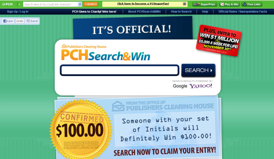 How to remove PCH Prize Bar (ads, pop-ups, banners)