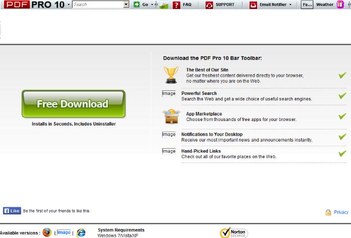 Pdf Toolbar Internet Explorer