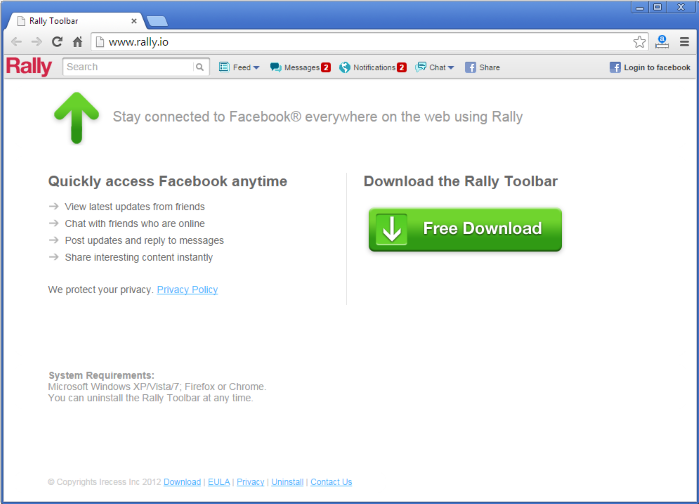 Rally Toolbar