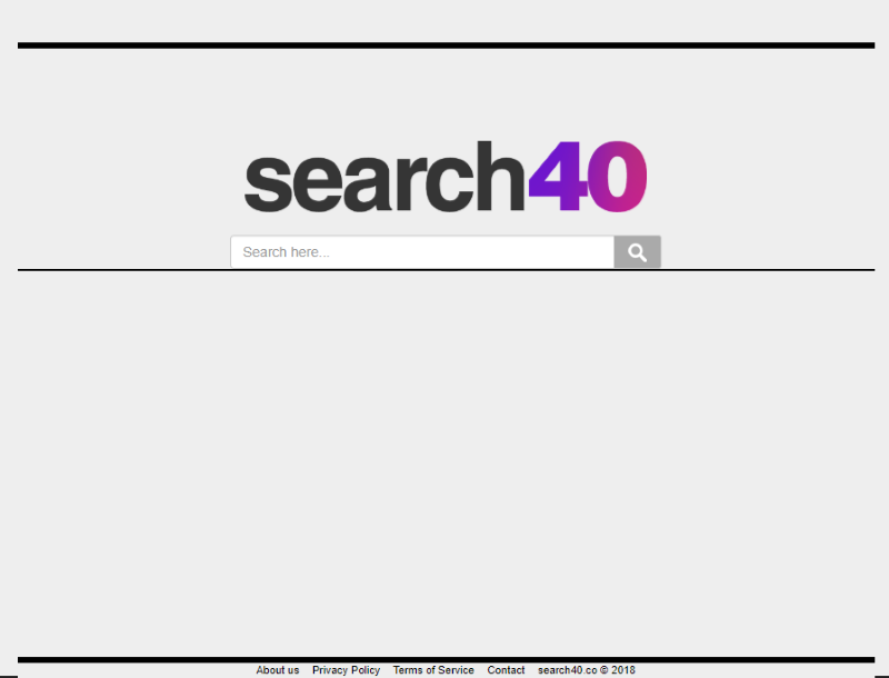How to remove Search40 co from Google Chrome, Mozilla