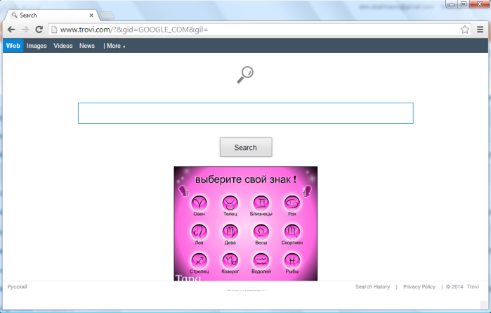 How to remove Trovi.com from Google Chrome, Mozilla Firefox