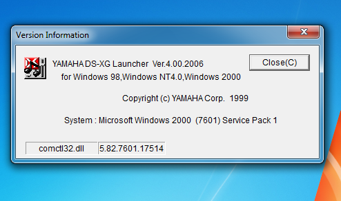 YAMAHA DS XG PCI WINDOWS DRIVER DOWNLOAD