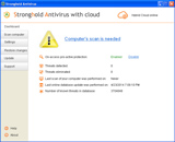 Stronghold Antivirus (Screenshot 1)