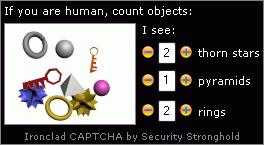Ironclad CAPTCHA capture d'écran 3