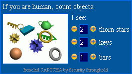 Ironclad CAPTCHA capture d'écran 4