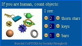 Ironclad CAPTCHA capture d'écran 4