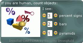 Ironclad CAPTCHA capture d'écran 5