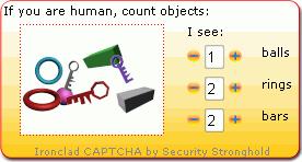 Ironclad CAPTCHA capture d'écran 6