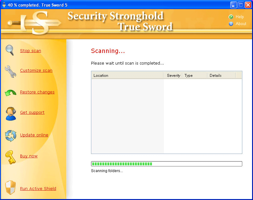 Spyware and malware removal remove spyware with true sword.