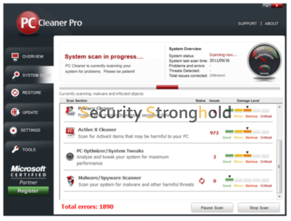 Pc cleaner pro how to remove pc cleaner pro 2012 download removal