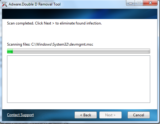 Remove Adware.Doubled automatically!